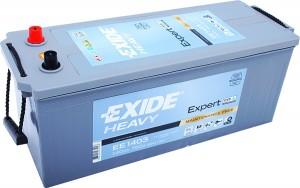 EXIDE EE1403 Heavy Expert HVR 12V 140Ah 760A