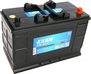 Exide EG 1102 Heavy Professional 12V 110Ah 750A HD Technology