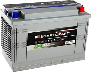 Startcraft AGM AB100 Antrieb + Beleuchtung 12V 100Ah