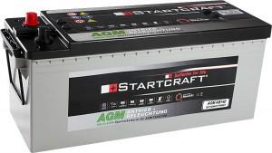 Startcraft AGM AB140 Antrieb + Beleuchtung 12V 140Ah