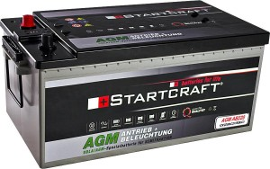 Startcraft AGM AB220 Antrieb + Beleuchtung 12V 220Ah