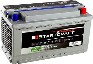 Startcraft AGM AB90 Antrieb + Beleuchtung 12V 90Ah