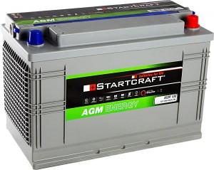 Startcraft AGM100 12V 100Ah 800A Vliesbatterie