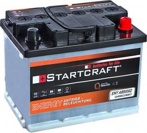 Startcraft Antrieb und Beleuchtung 12V 50Ah (c5) 12V 60Ah (c20)