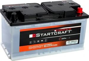 Startcraft Antrieb und Beleuchtung 12V 80Ah (c5) 12V 95Ah (c20)