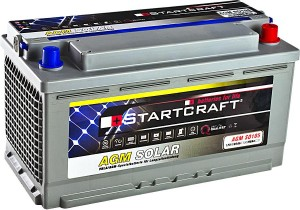 Startcraft SOLAR AGM SO105 12V 105Ah