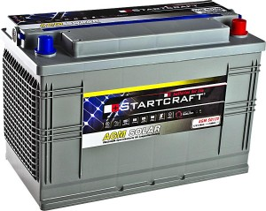 Startcraft SOLAR AGM SO120 12V 120Ah