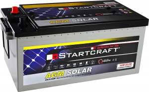 Startcraft SOLAR AGM SO250 12V 250Ah
