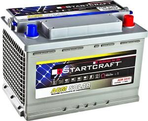 Solarbatterie Startcraft SOLAR AGM SO85 12V 85Ah