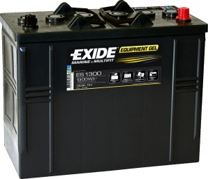 EXIDE ES1300 GEL Equipment 12V 120Ah 1300Wh