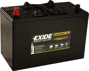 EXIDE ES950 GEL Equipment 12V 85Ah 950Wh