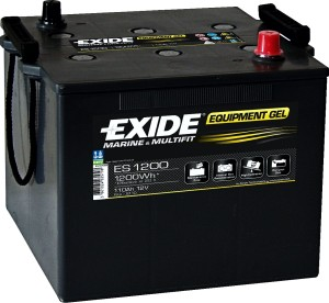 EXIDE ES1200 GEL Equipment 12V 110Ah 1200Wh