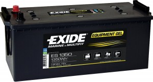 EXIDE ES1350 GEL Equipment 12V 120Ah 1350Wh