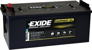 EXIDE ES2400 GEL Equipment 12V 210Ah 2400Wh