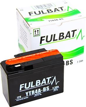 AGM Vliesbatterie Motorradbatterie 12V 2,3Ah 50303 YTR4A-BS