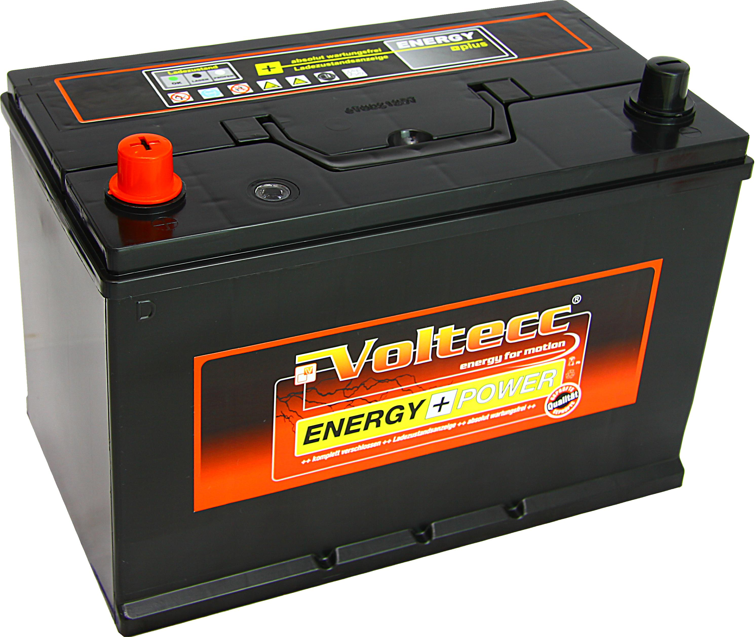 Voltecc Energy Asia 60033 12V 100Ah 680A Pluspol links