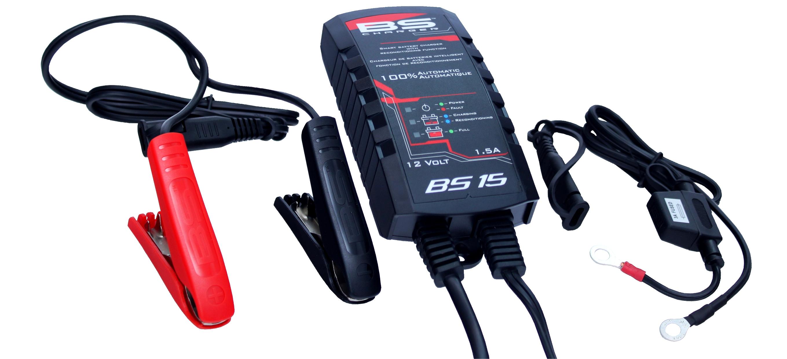 BS Ladegerät BS15 12V 1,5A