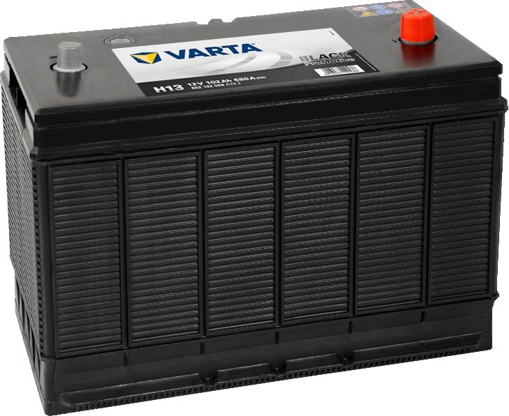 Varta H13 ProMotive Black 12V 102Ah 680A 602102068