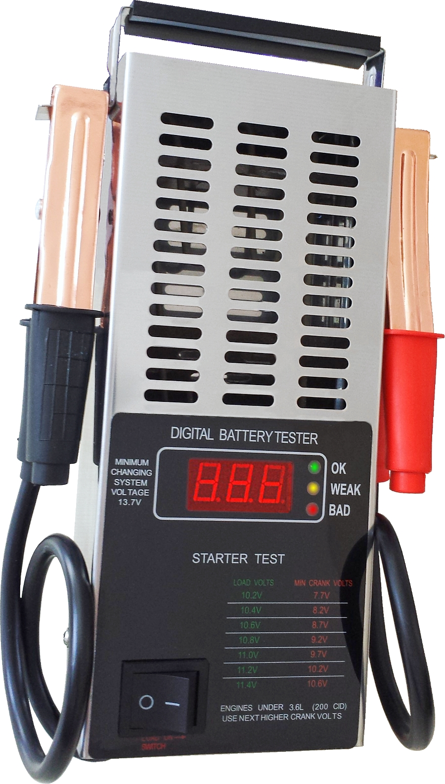 Digitaler Batterie-Tester Testgerät Lichtmaschine Ladesystem 12V Autobatterie