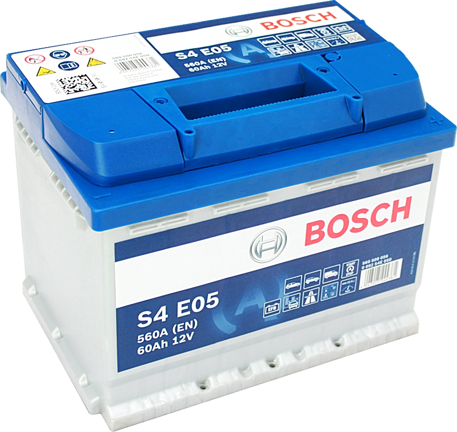 Bosch S4E05 EFB Start Stop 12V 60Ah 560A 0092S4E050