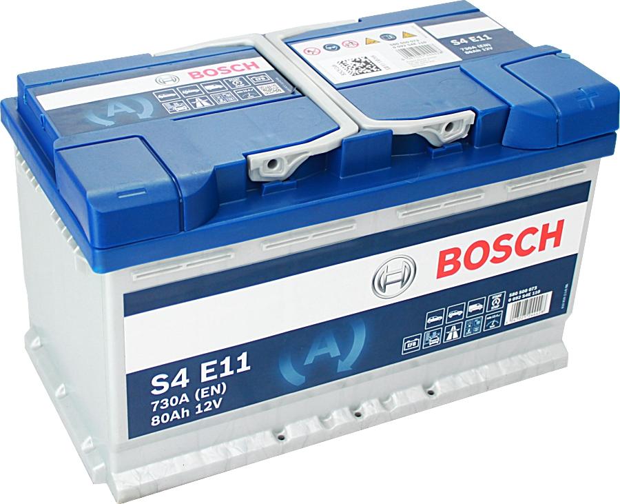 Bosch S4E11 EFB Start Stop 12V 80Ah 730A 0092S4E110