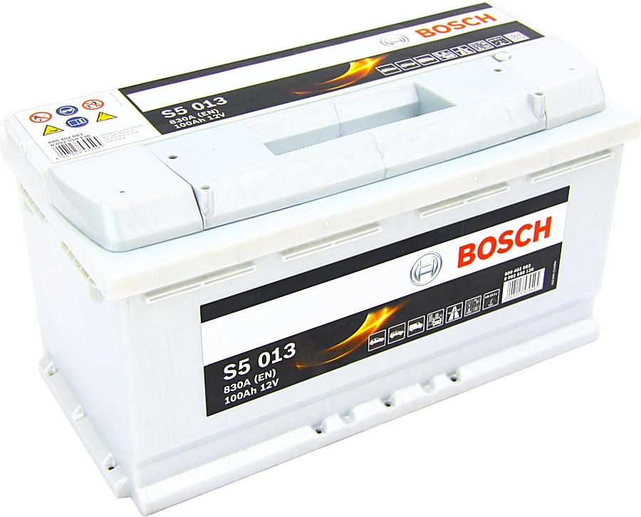 Bosch S5013 12V 100Ah 830A 0092S50130