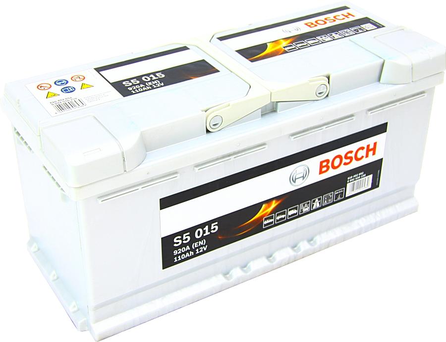 Bosch S5015 12V 110Ah 920A 0092S50150