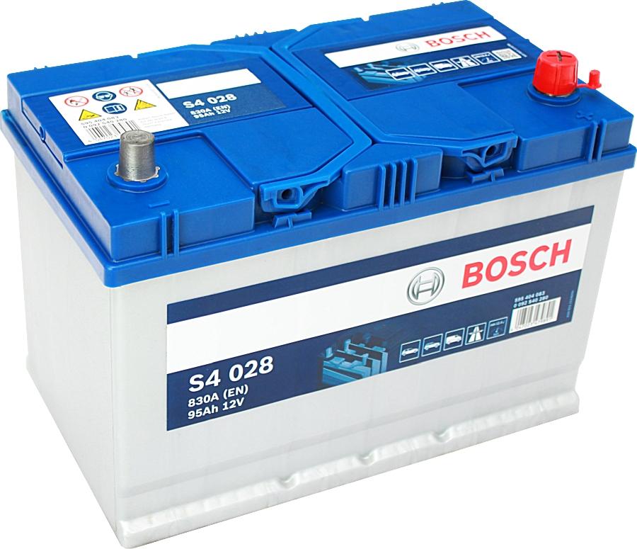 Bosch Silver S4028 12V 95Ah 830A 0092S40280