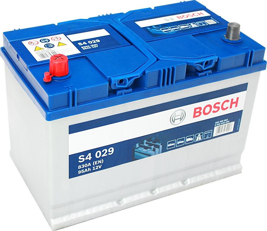 Bosch Silver S4029 12V 95Ah 830A 0092S40290