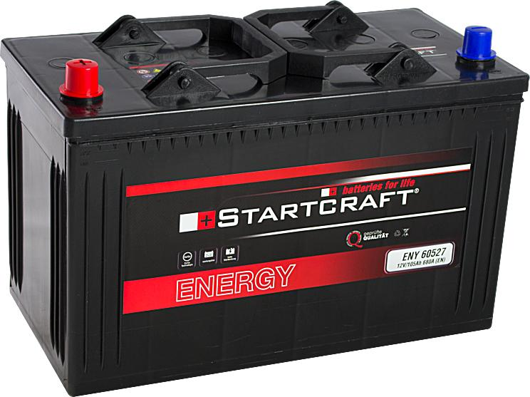 Startcraft Energy 60527 12V 105Ah 680A