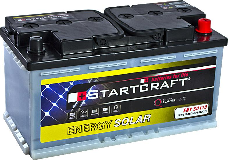 Startcraft Energy Solar ENY SO110 12V 110Ah (C100)