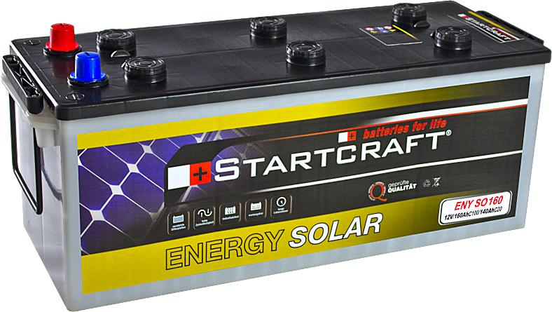 Startcraft Energy Solar ENY SO160 12V 160Ah (C100)