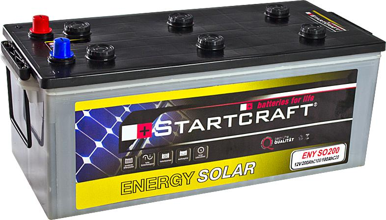 Startcraft Energy Solar ENY SO200 12V 200Ah (C100)