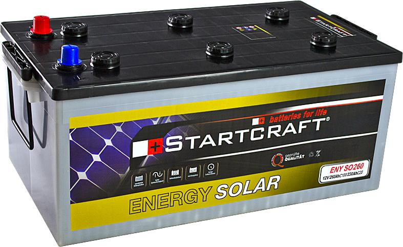 Startcraft Energy Solar ENY SO260 12V 260Ah (C100)