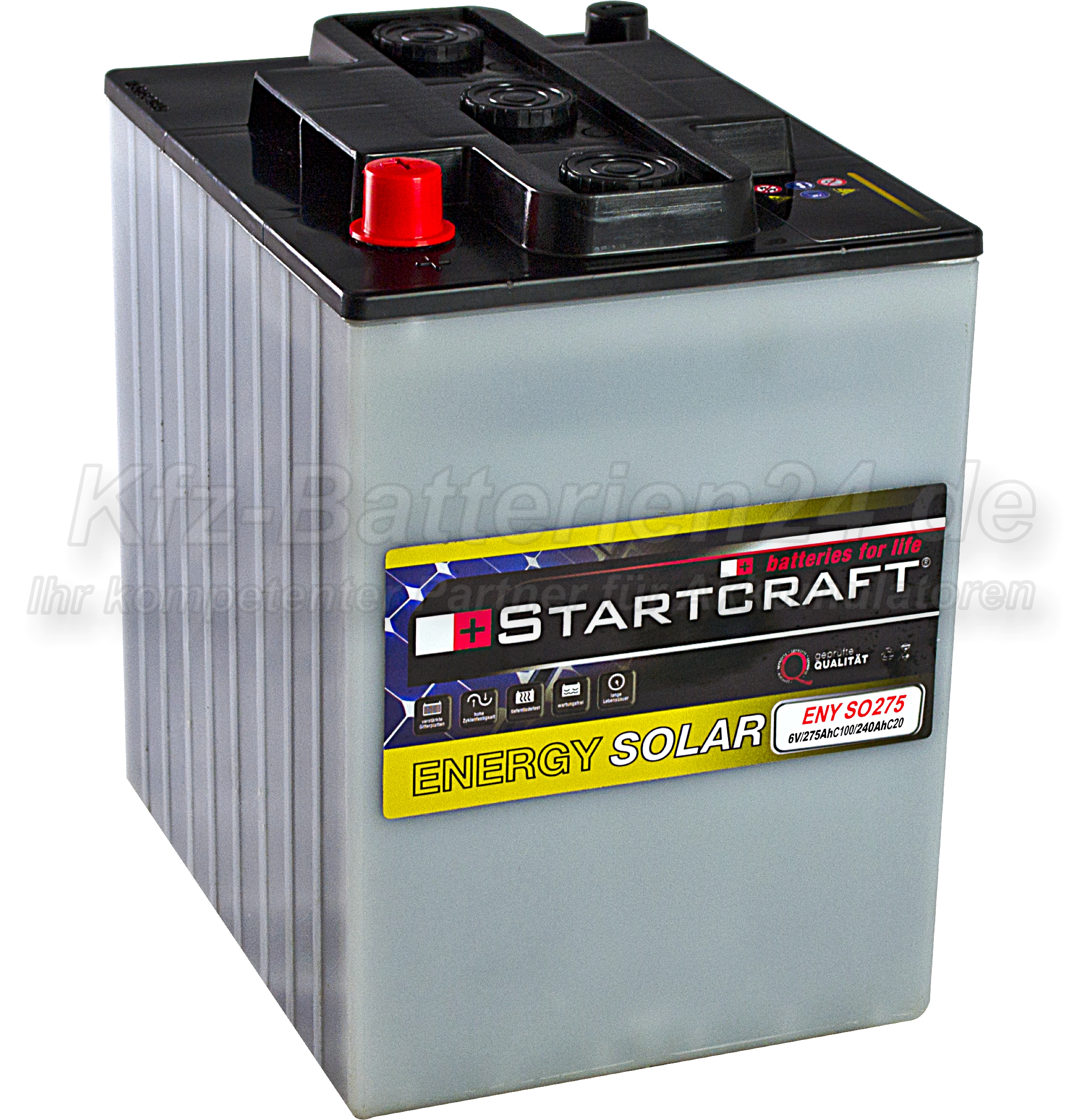 Startcraft Energy Solar ENY SO275 6V 275Ah (C100)