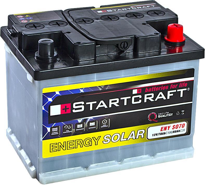 Startcraft Energy Solar ENY SO70 12V 70Ah (C100)