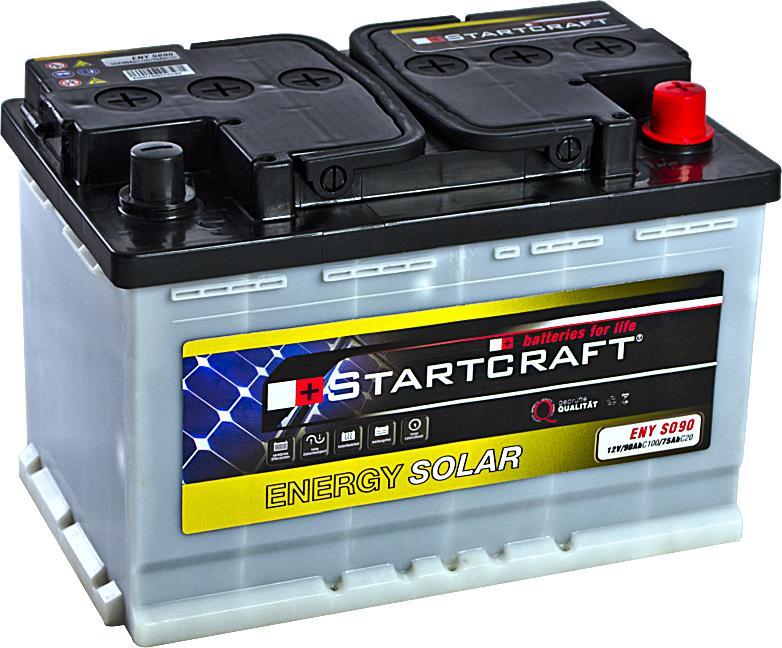 Solarbatterie Startcraft Energy Solar ENY SO90 12V 90Ah (C100)