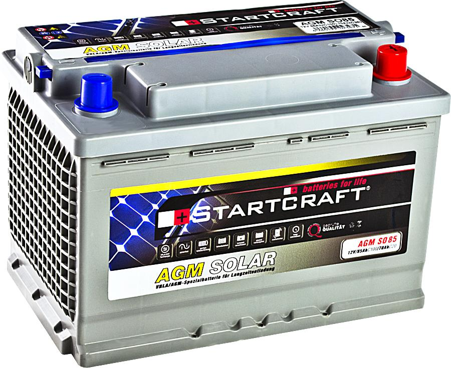 Startcraft SOLAR AGM SO85 12V 85Ah